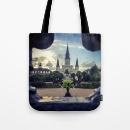Through the Iron Gates Tote Bag