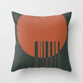 Papercuts VII Throw Pillow