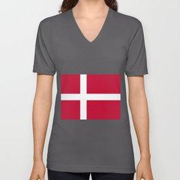 Dk Flag Unisex V-Neck