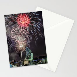 Fourth Of July Fireworks Gloucester Stationery Cards