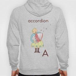 Accordion-playing baboushka  Hoody