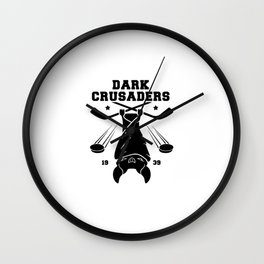 Dark Crusaders Wall Clock