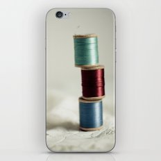 Vintage Threads iPhone & iPod Skin