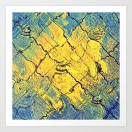 sunabstract. Art Print