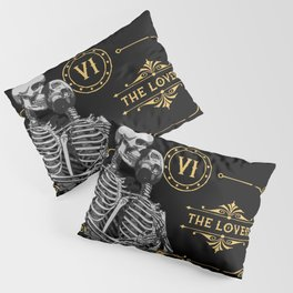 The Lovers VI Tarot Card Pillow Sham