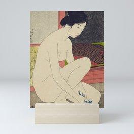 Woman after a bath by Goyo Hashinguchi, 1915 Mini Art Print