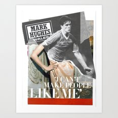 Football Fashion #5 Art Print