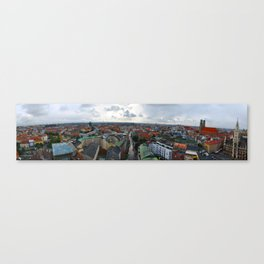 View from St Peter's Church, Munich, Germany Canvas Print