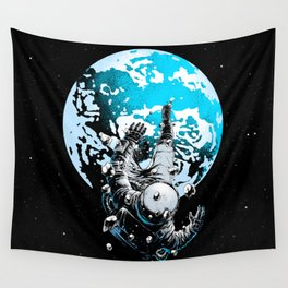 The Lost Astronaut  Wall Tapestry