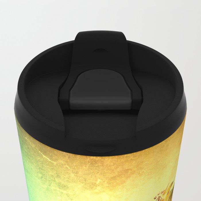 The Wake Up Metal Travel Mug