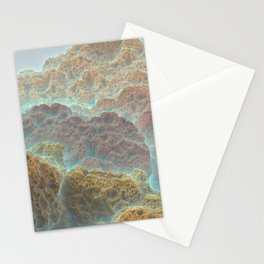 Coral Mountains Stationery Cards