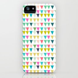 geometrics colors iPhone Case