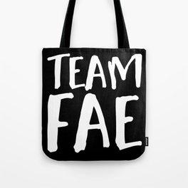 Team Fae - Inverted Tote Bag