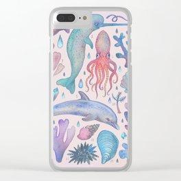 Et coloris natura VI Clear iPhone Case