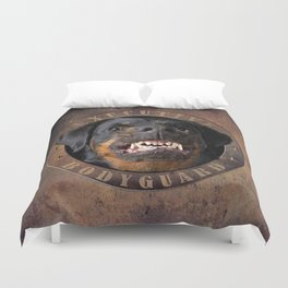 Executive bodyguard Angry rottweiler iPhone 4 5 6 7 8 x, pillow case, mugs and tshirt Duvet Cover