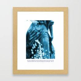 Water of Life Framed Art Print
