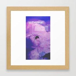 Ethereal - JB Version Framed Art Print
