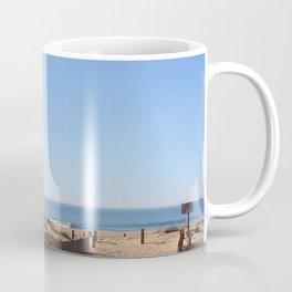 Ocean view - minimalist landscape photography | Ocean City, MD Coffee Mug