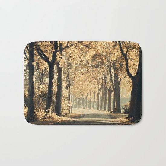 Autumn scenery #1 Bath Mat