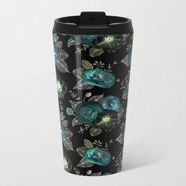 The Night Garden IV Pattern Metal Travel Mug