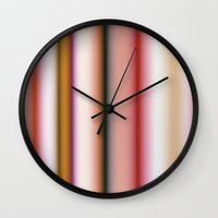burlesque Wall Clocks featuring Burlesque by Patrick Dintino