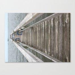 Walk Canvas Print