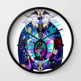Still Dreaming Wall Clock