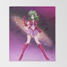 Sailor Andromeda Throw Blanket
