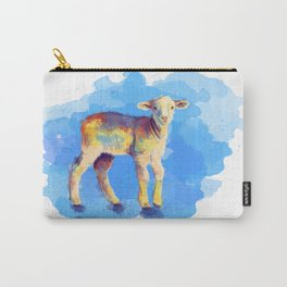 Litte Lamb Carry-All Pouch