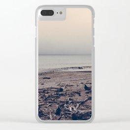 Vintage Ocean 06 Clear iPhone Case