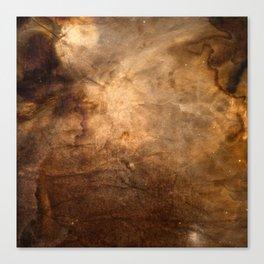 Coffee Universe Canvas Print