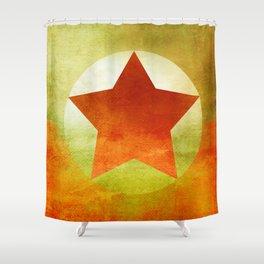 Star Composition VI Shower Curtain