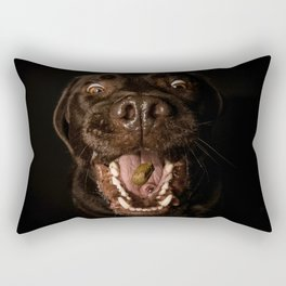 Happy labrador Rectangular Pillow