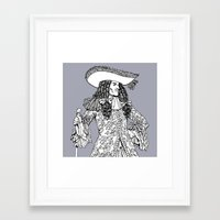 spanish Framed Art Prints featuring Spanish Explorer by Tom Tierney Studios