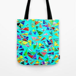 Triangle Mania Tote Bag