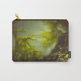 Lichen (moss) in a fog Carry-All Pouch