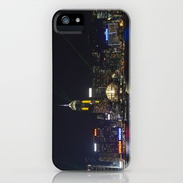 Hong Kong Symphony of Lights iPhone Case