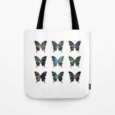 Butterfly collection usa o4 Tote Bag