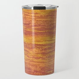 Abstract background orange Travel Mug