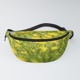 Buttercups in motion Fanny Pack