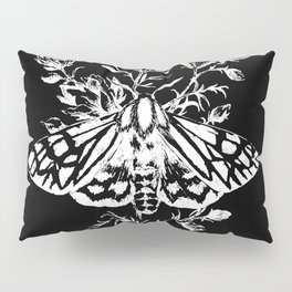 butterfly black Pillow Sham