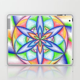 Expanding Flower Power - The Rainbow Tribe Collection Laptop & iPad Skin