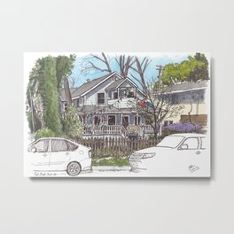 The Turtle House, Davis Metal Print