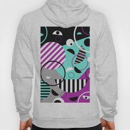Bits And Bobs - Abstract, geometric design Hoody