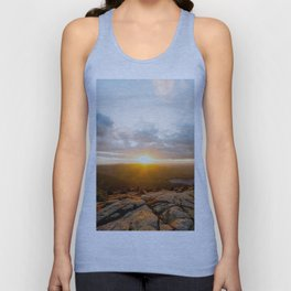 Cadillac Mountain Sunset Unisex Tank Top