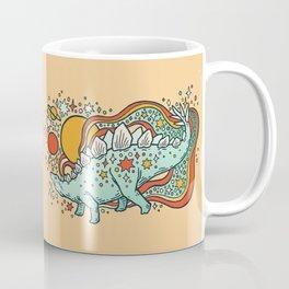 Star Stego   Retro Reptile Palette Coffee Mug
