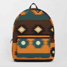 Stripes with native shapes Backpack