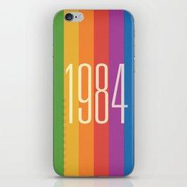 1984 (v) iPhone Skin