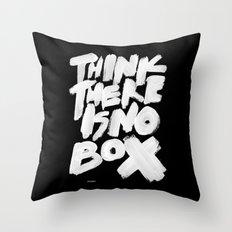 NOBOX Throw Pillow