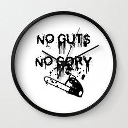 No Guts, Not Gory! Wall Clock
